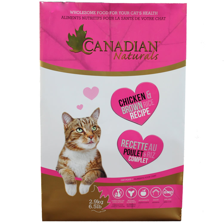 Canadian naturals cat chicken rice 3lb 6 cat food all for pets cat food canadian naturals cat chicken rice 3lb forumfinder Choice Image