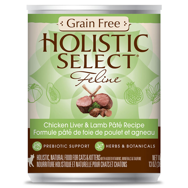 Holistic select grain free chicken liver lamb pate 1213oz cat cat food holistic select grain free chicken liver forumfinder Image collections
