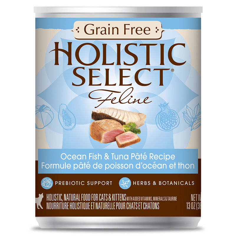 Holistic Select Grain Free Protein Content  Cat