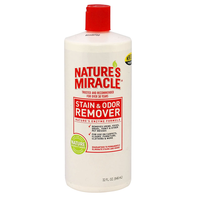Natures miracle stain odor remover all for pets for Fish odor urine