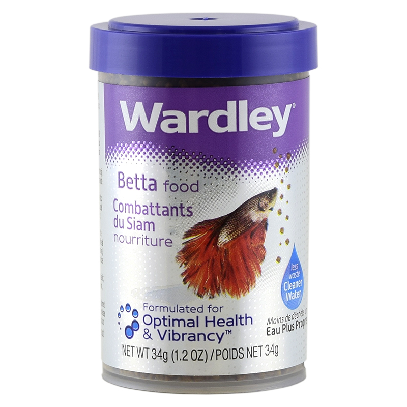 Fish food wardley betta food 1 2oz all for pets for Best food for betta fish