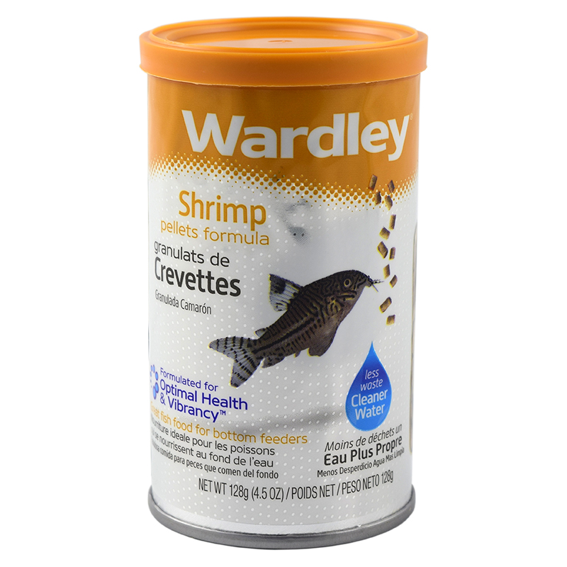 Fish food wardley shrimp pellets 4 5oz all for pets for Fish food pellets