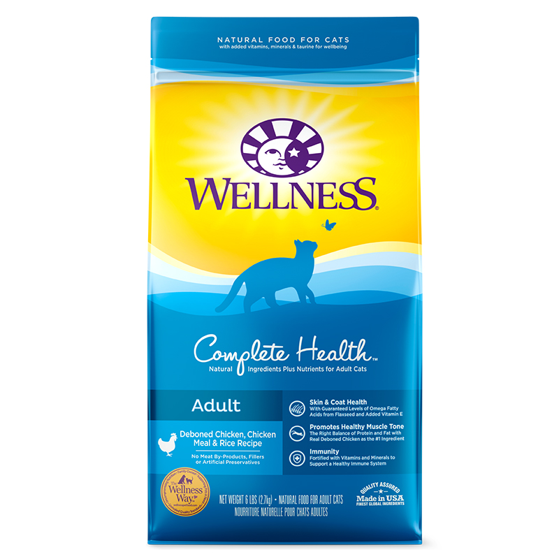 Wellness Natural Food For Cats Chicken   Oz