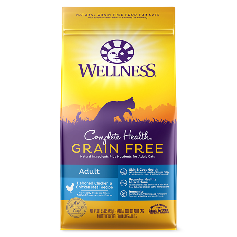 Wellness Complete Health Cat Grain Free Chicken 2lb 4oz 6