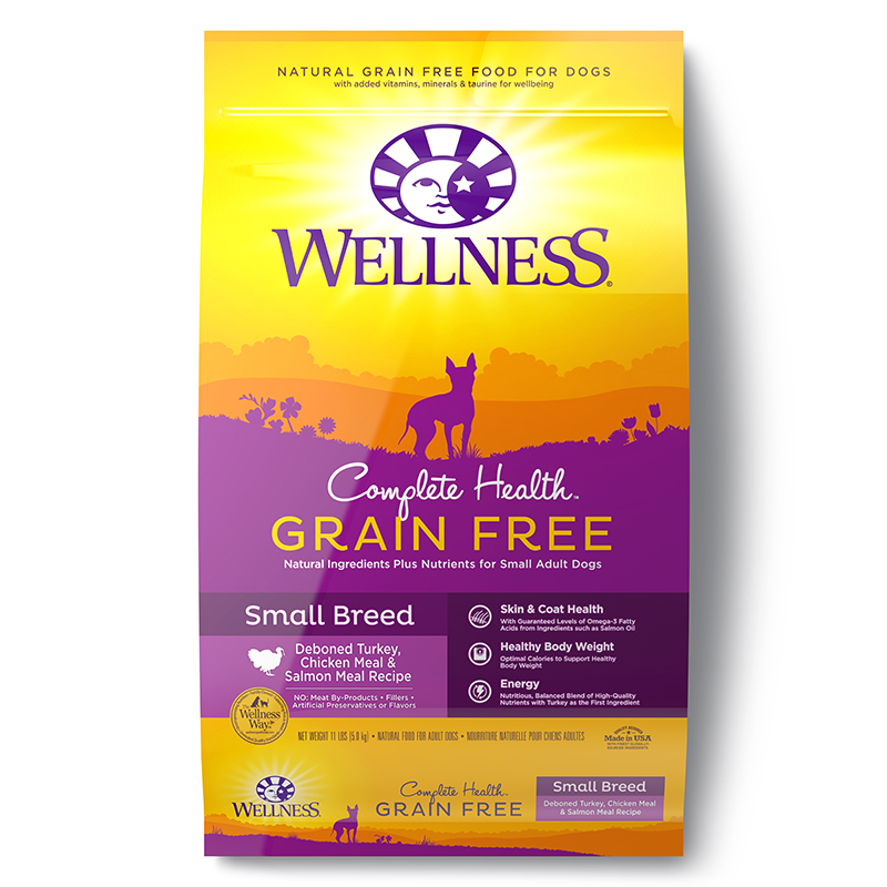 Dog Food Wellness Complete Health Grain Free Small Breed