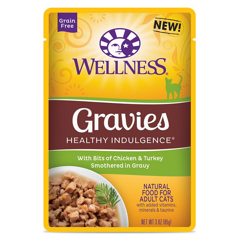 Wellness Healthy Indulgence Cat Gravies Chicken Amp Turkey
