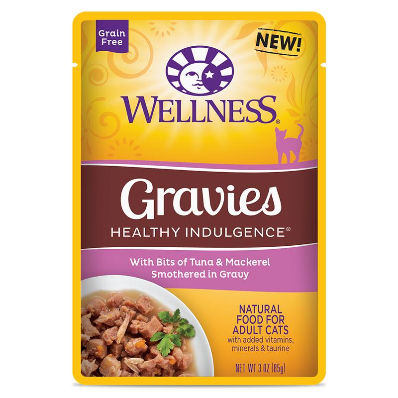 Wellness Healthy Indulgence Cat Gravies Tuna Amp Mackeral 24