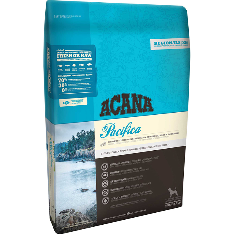 Acana Regionals Pacifica Dog Food All For Dogs Dog And