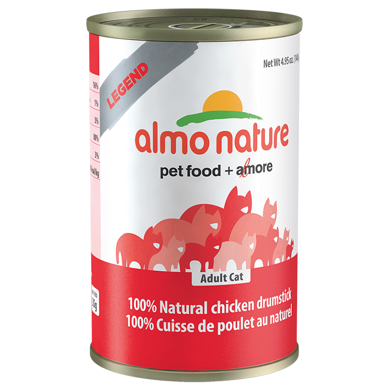 Almo Legend Chicken Drumstick 24 140g All For Cats Almo