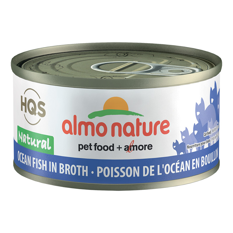 Almo natural oceanic fish 24 70g cat and kitten food all for Organic fish food