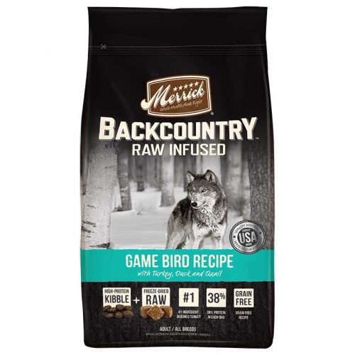 Dog-Food-Backcountry-Game-Bird-12LB