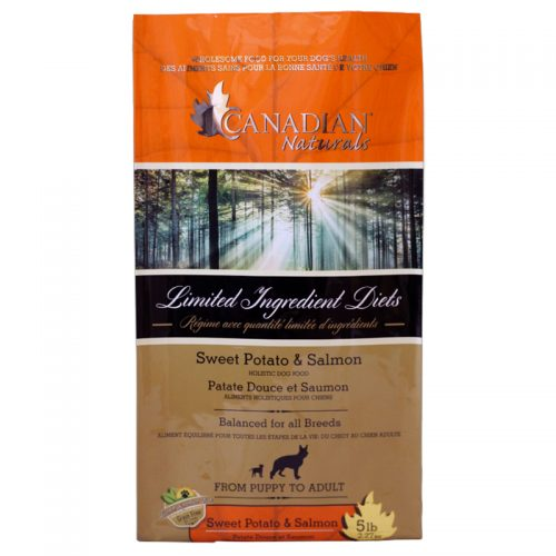 Dog-Food- Canadian-Naturals-Grain-Free-Salmon-Sweet-Potato-5LB