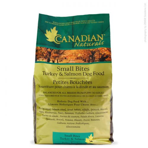 Dog-Food-Canadian-Naturals-Small-Bites-Turkey-Salmon-30lb