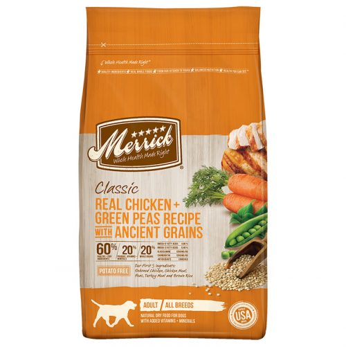 Dog-Food-Classic-Adult-Chicken-Green-Peas-Ancient-Grains-25LB