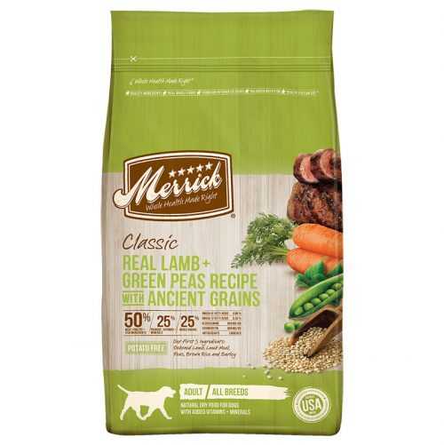 Dog-Food-Classic-Adult-Lamb-Green-Peas-Ancient-Grains-12LB