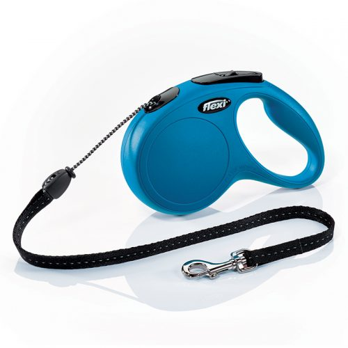 Dog-Supply-Classic-Cord-Flexi-Blue-Medium-5M