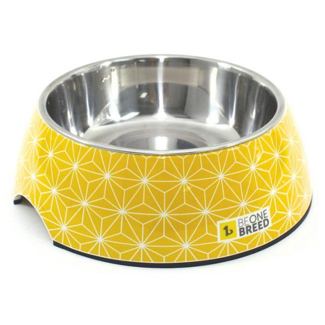 Dog-Supply-Design-Bowl-Yellow-Medium