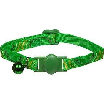 Cat-Supply-Eco-Friendly-Break-Away-Collar-Green-8-12