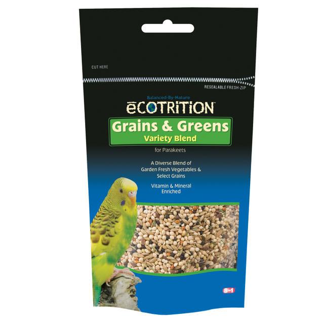 Bird-Food-Ecotrition-Parakeet-Grains-Greens-8OZ