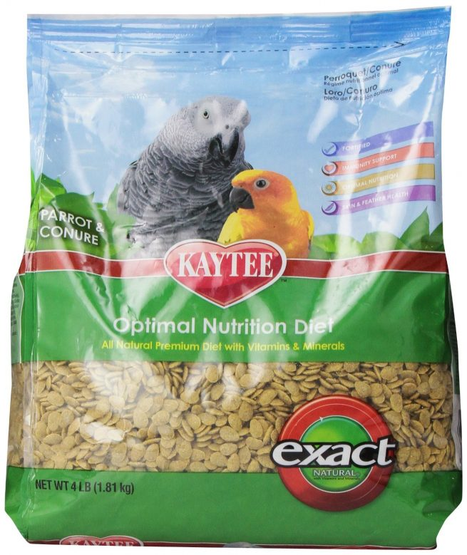 Bird-Food-Exact-Parrot-Conure-Natural-4-Lb