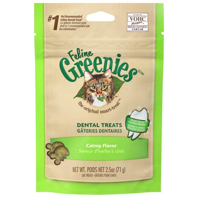 Cat-Treats-Feline-Greenies-Dental-Catnip-Flavor-2.5OZ