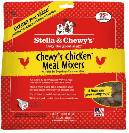 Dog-Food-Freeze-Dried-Chicken-Meal-Mixers-18OZ