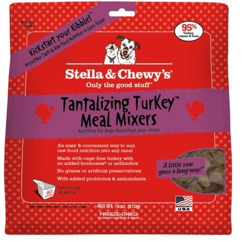 Dog-Food-Freeze-Dried-Turkey-Meal-Mixers-18OZ