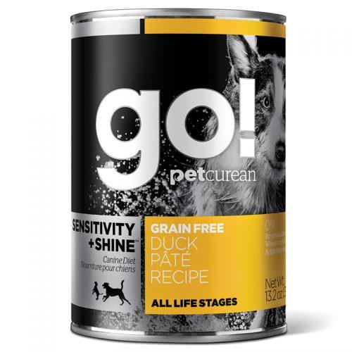 Dog-Food-Go-Sensitivity-Shine-Duck-Pate-12-13.2OZ