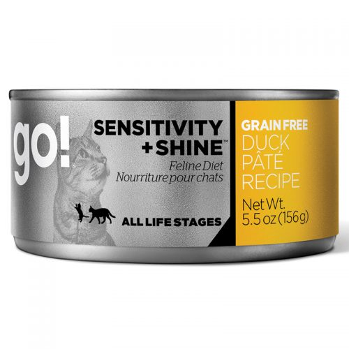 Cat-Food-Go-Sensitivity-Shine-Grain-Free-Cat-Duck-Pate-24-5.5OZ