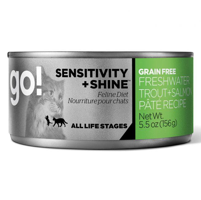 Cat-Food-Go-Sensitivity-Shine-Grain-Free-Cat-Freshwater-Trout-Salmon-Pate-24-5.5OZ