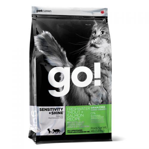 Cat-Food-Go-Sensitivity-Shine-Grain-Free-Trout-Salmon-Cat-16LB