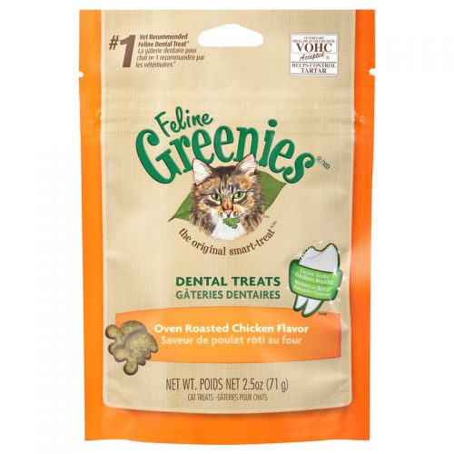 Cat-Treats-Greenies-Feline-Dental-Oven-Roasted-Chicken-2.5OZ