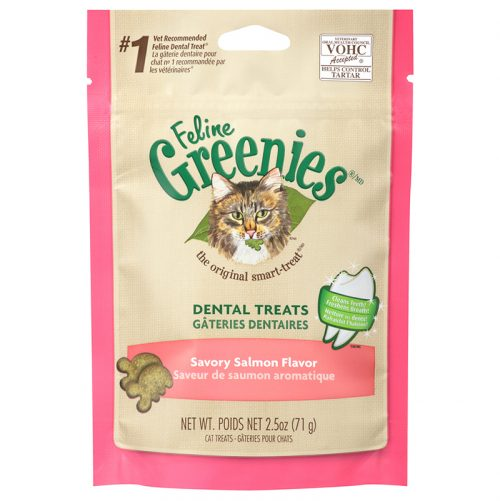 Cat-Treats-Greenies-Feline-Dental-Savory-Salmon-2.5OZ