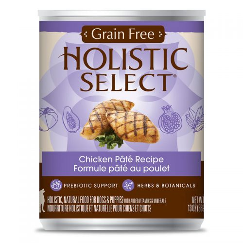 Cat-Food-Holistic-Select-Grain-Free-Chicken-Pate-12-13OZ