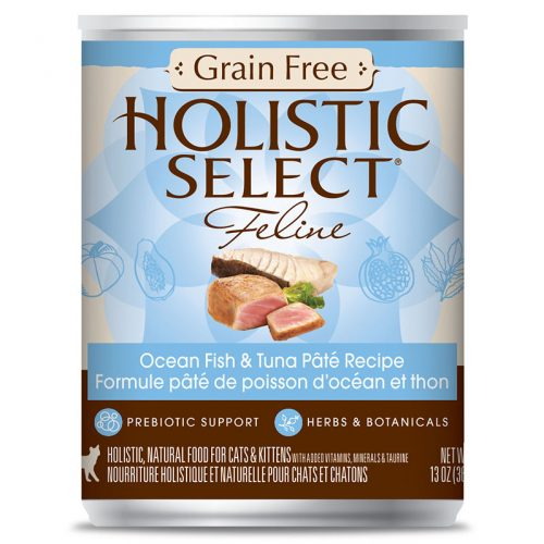 Cat-Food-Holistic-Select-Grain-Free-Ocean-Fish-Tuna-Pate-12-13OZ