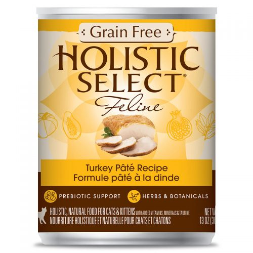 Cat-Food-Holistic-Select-Grain-Free-Turkey-Pate-12-13OZ