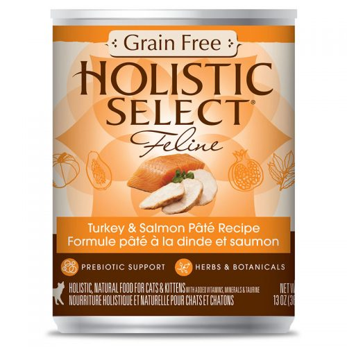 Cat-Food-Holistic-Select-Grain-Free-Turkey-Salmon-Pate-12-13OZ