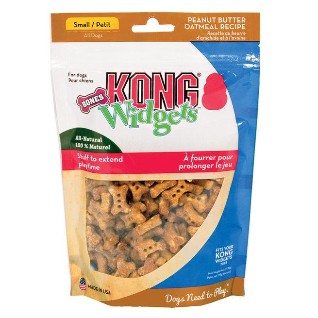 Dog-Treats-KONG-Widgets-Bones-Peanut-Butter-Oatmeal-Small