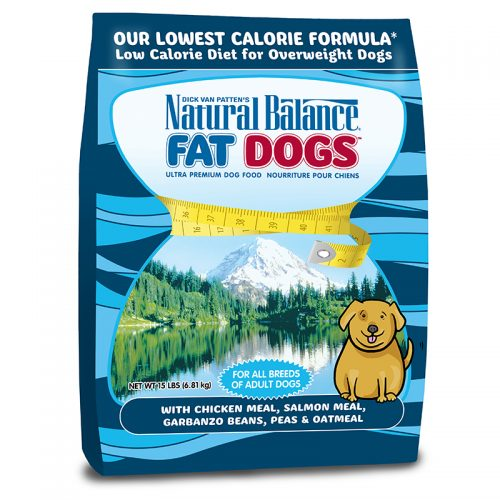 Dog-Food-Natural-Balance-Fat-Dogs-Chicken-Salmon-Low-Calorie-15LB