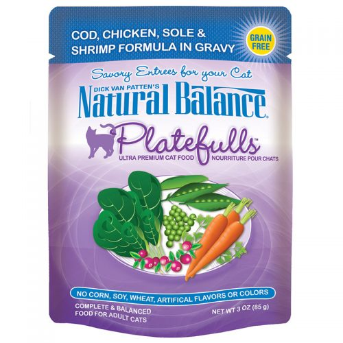 Cat-Food-Natural-Balance-Platefulls-Cat-Cod-Chicken-Sole-Shrimp-24-3OZ