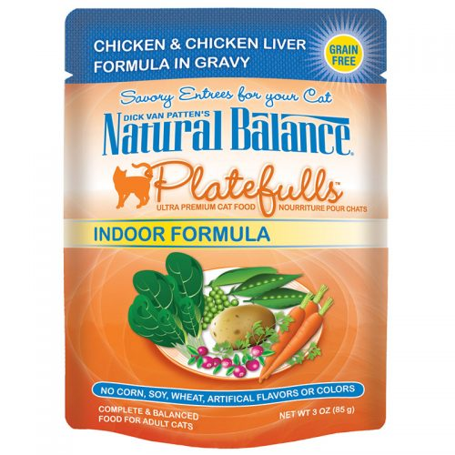 Cat-Food-Natural-Balance-Platefulls-Cat-Indoor-Chicken-Chicken-Liver-24-3OZ