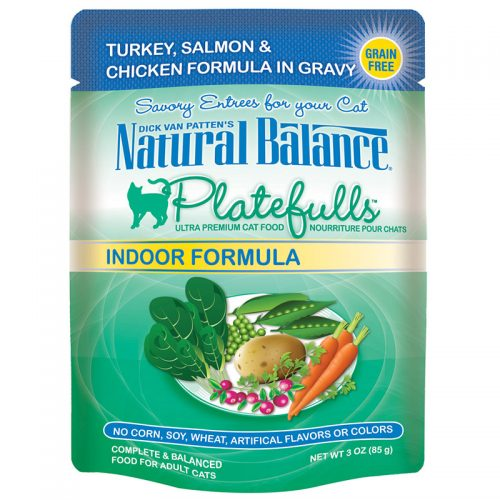 Cat-Food-Natural-Balance-Platefulls-Cat-Indoor-Turkey-Salmon-Chicken-24-3OZ