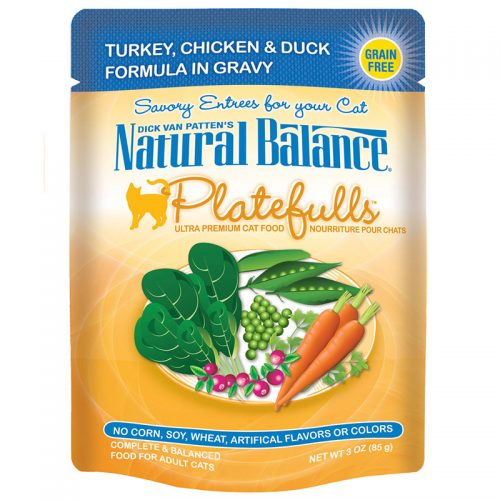 Cat-Food-Natural-Balance-Platefulls-Cat-Turkey-Chicken-Duck-24-3OZ