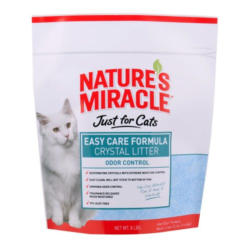 Cat-Litter-Natures-Miracle-Easy-Care-Crystal-Litter-8LB