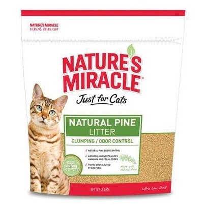 Cat-Litter-Natures-Miracle-Natural-Pine-Litter-8LB