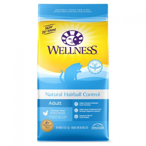 Cat-Food-Wellness-Cat-Natural-Hairball-12LB