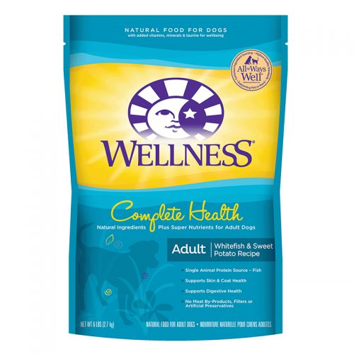 Dog-Food-Wellness-Complete-Health-Adult-Whitefish-Sweet-Potato-5LB