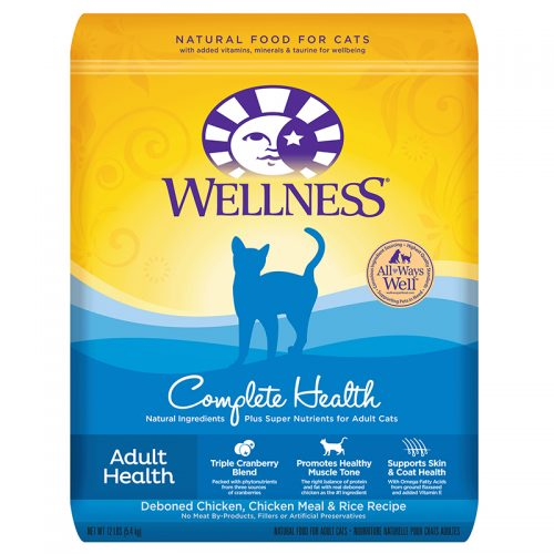 Cat-Food-Wellness-Complete-Health-Cat-Adult-12LB