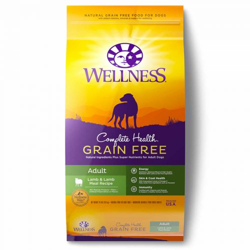 Dog-Food-Wellness-Complete-Health-Grain-Free-Adult-Lamb-Lamb-Meal-12LB