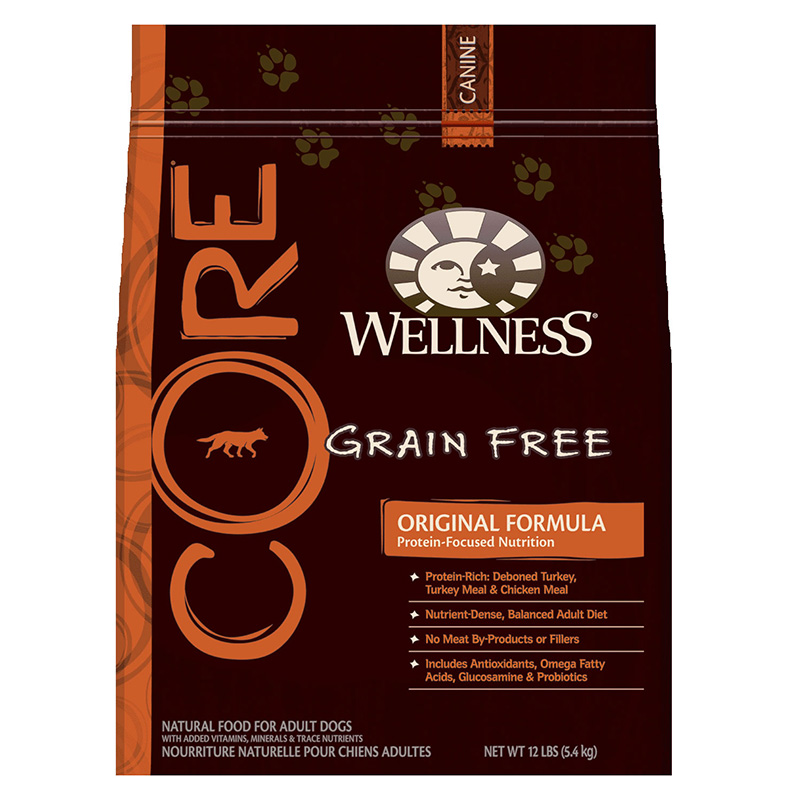 Wellness Core Dog Original 12lb All For Dogs Dog And
